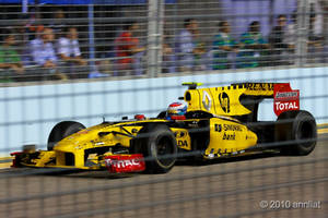 Renault at Singapore F1 2010 by allim7905