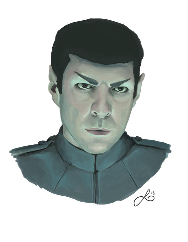 Mr. Spock by leanne-reynolds