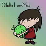 Cthulhu Loves You by Nightlance1