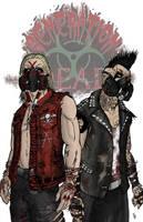 Generation Dead Tag Team Print by Nightlance1