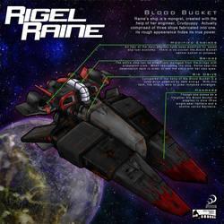 Raine's ship, the Blood Bucket by Nightlance1