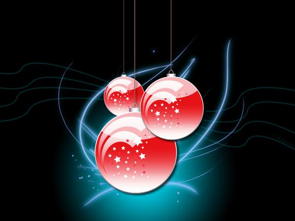Christmas Wallpaper II by Adamoos