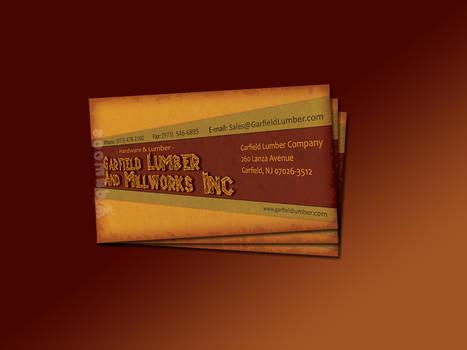 Garfield Lumber Business Card