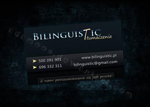 Bilinguistic Business Card