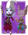 Lord Beerus And Whis Chibis :D