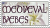 Medieaval Baebes Stamp by Oh-Desire