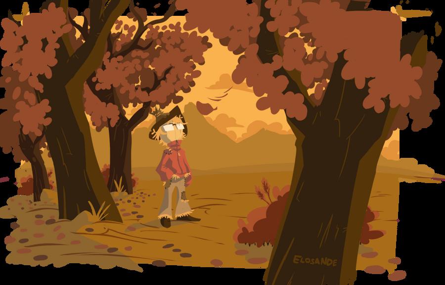 Autumn Stroll by Elosande