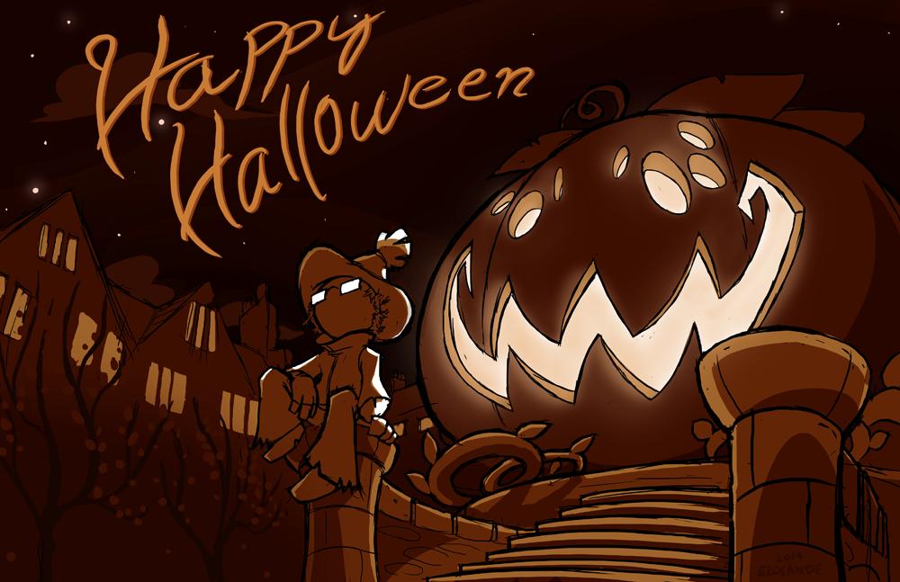 Halloween2014 by Elosande