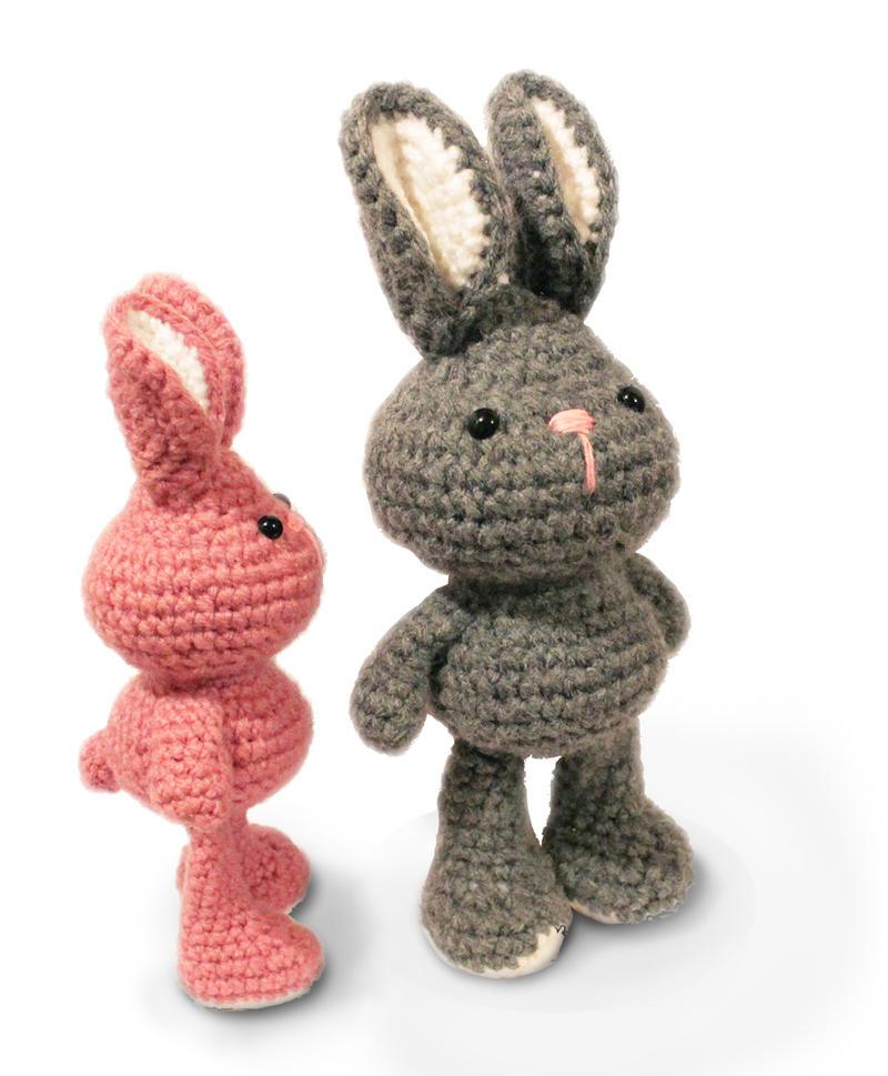Amigurumi Bunny Knitting Pattern : Amigurumi bunny pattern by AnatTzach on DeviantArt