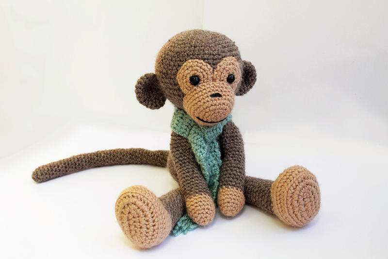 Amigurumi To Go Monkey : Amigurumi Monkey by AnatTzach on DeviantArt