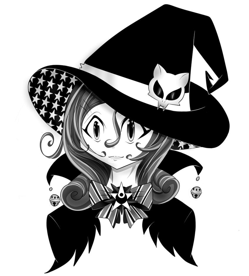 Little Witch by HunterRed