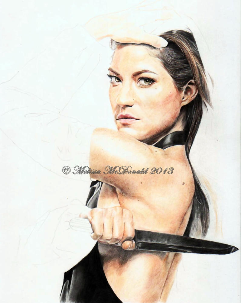 W I P 2 Debra Morgan Jennifer Carpenter By Mellimac On