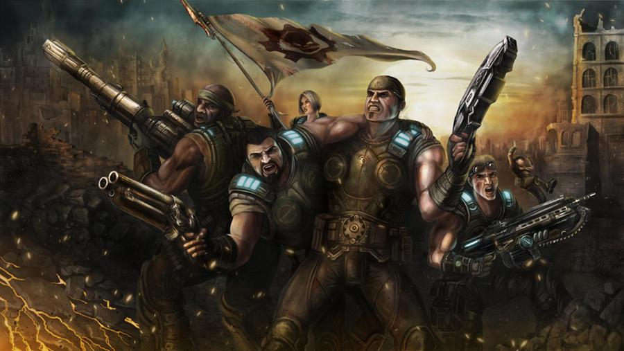gears of war last stand by larrywilson on deviantart