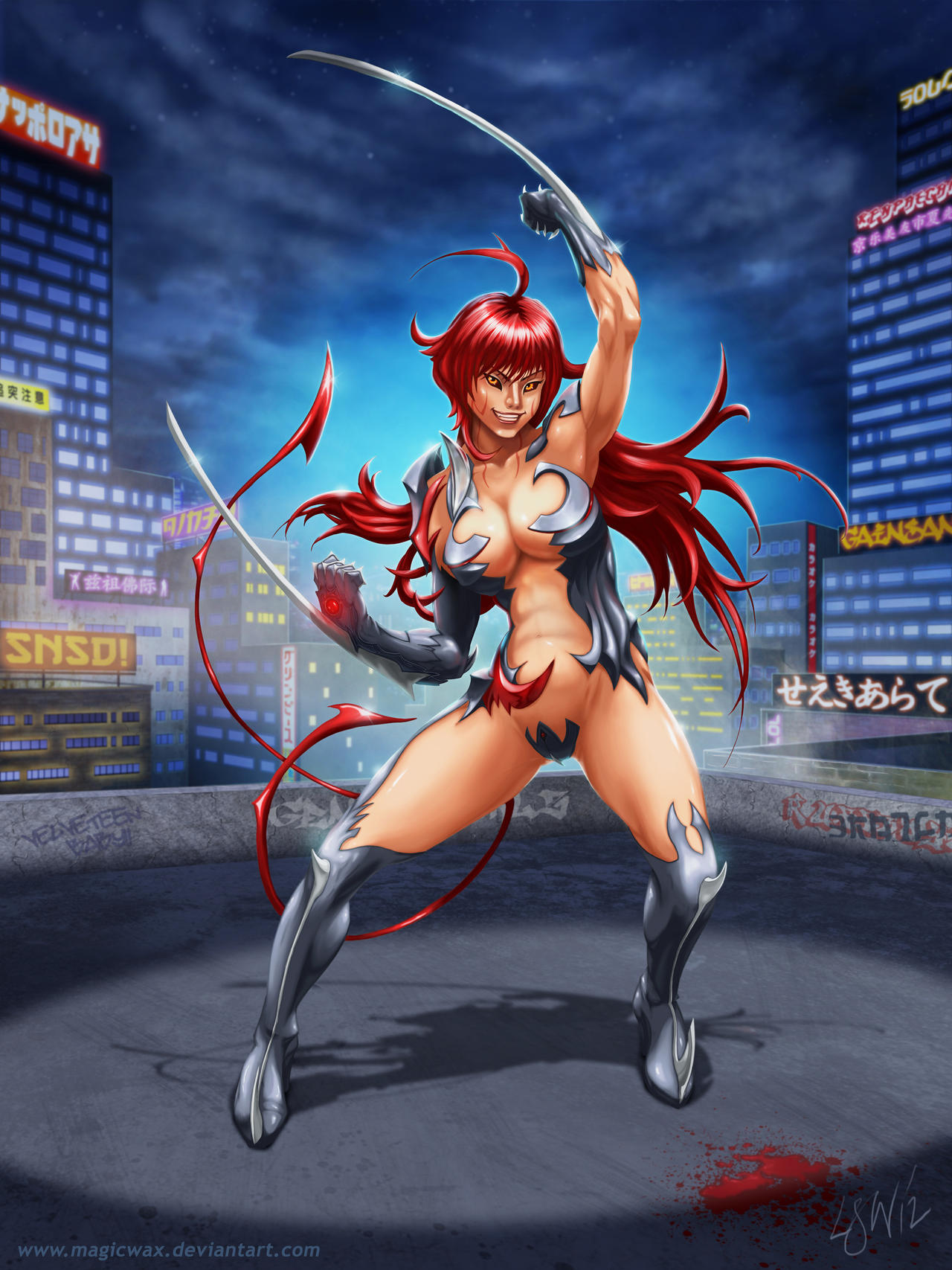 Witchblade Masane Amaha by LarryWilson