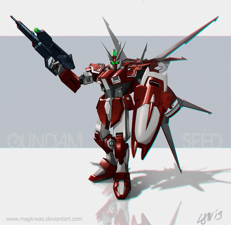 Gundam Seed - Custom Slaughter Dagger by LarryWilson