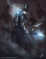 Steampunk Vampire Hunter by LarryWilson
