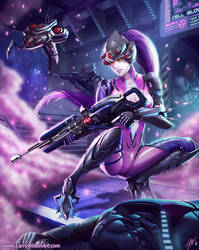 Widowmaker - Overwatch by LarryWilson