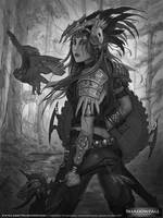 SHADOWFALL - Northern Clan's Shield Maiden WIP by LarryWilson