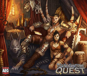 Thunderstone Quest - Adlet Alpha and Queen
