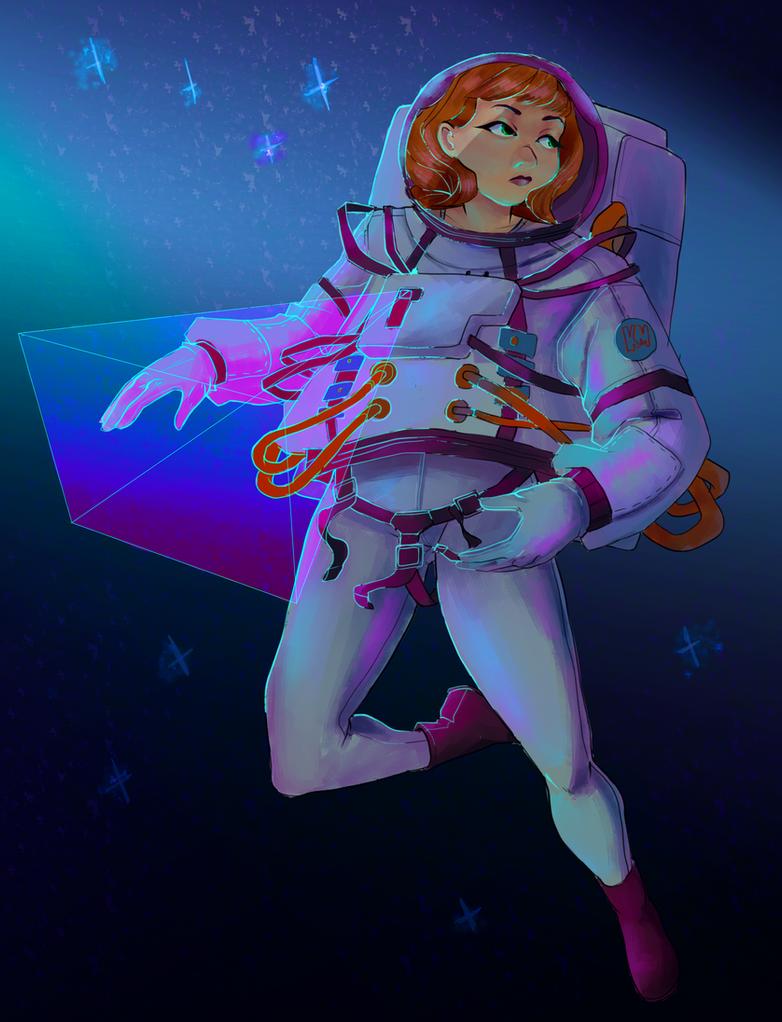 Astronaut Collab by missmady