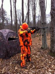 Deer Hunting Taking Aim by TailsThePrower71