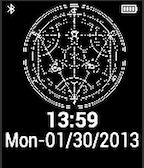 Full Metal Alchemist Pebble Watchface