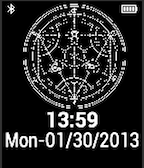 Full Metal Alchemist Pebble Watchface by TailsThePrower71