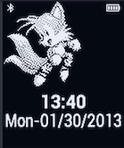 Tails Pebble Watchface by TailsThePrower71