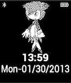 Cosmo Pebble Watchface by TailsThePrower71