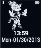 Blaze Pebble Watchface by TailsThePrower71