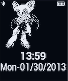 Rouge Pebble Watchface by TailsThePrower71