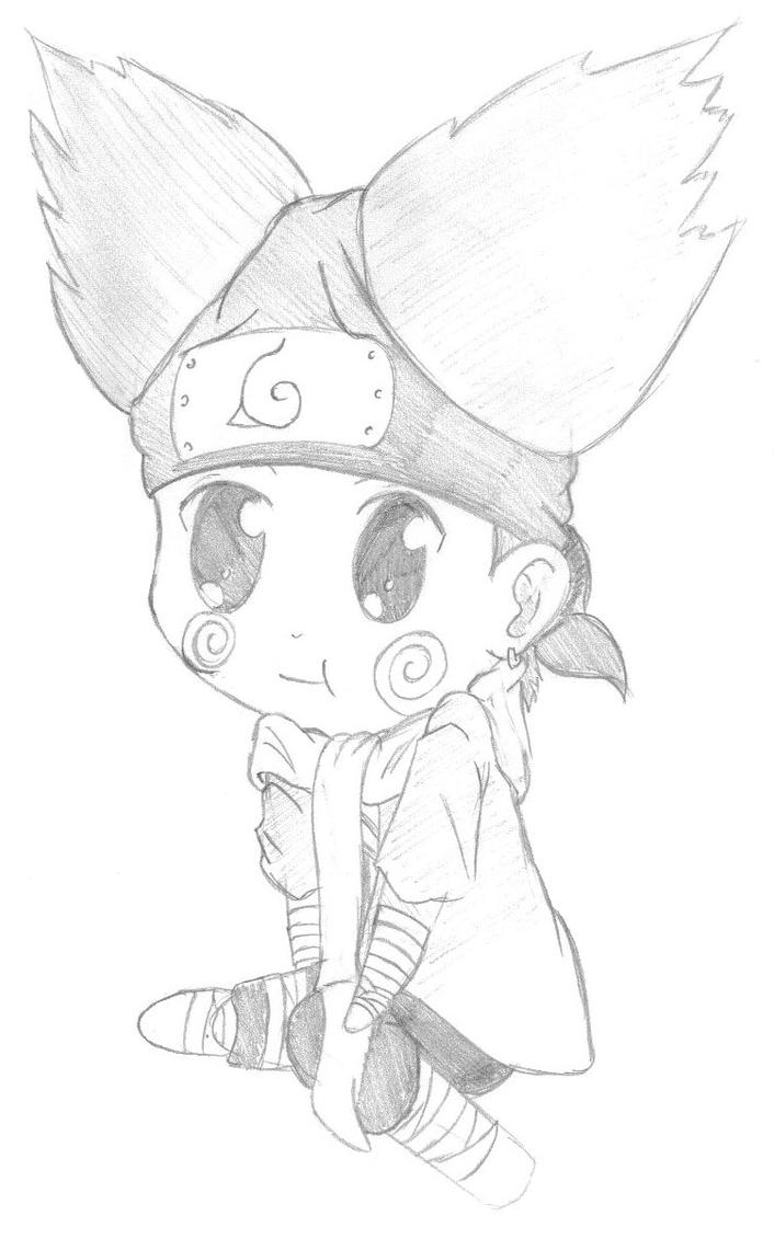 Chibi Choji by Notebook0601