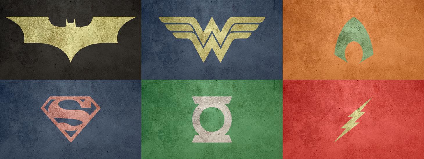 Justice League Logo Justice League Logo Set by Justice League Unlimited Cyborg