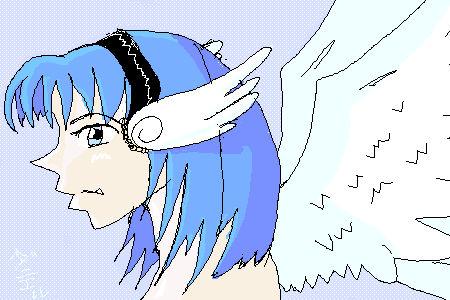 blue angel doll
