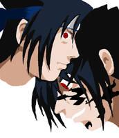 Sasuke....Torn Lineless by omisgirl