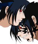 Sasuke....Torn Colored