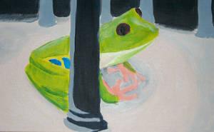 Frog closeup 1 by omisgirl