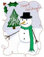 Happy Holidays Everyone by omisgirl