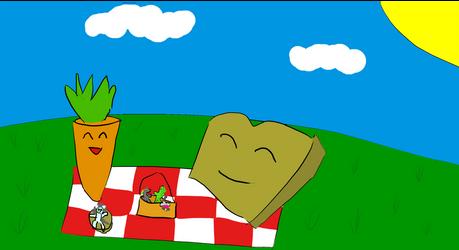 a picnic to remember by potatopancake