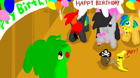 happy birthday! by potatopancake