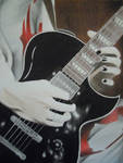 Uruha -playing guitar-