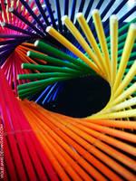 Spiral of colors II by ViOLeTjaniS