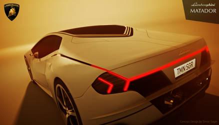 Lamborghini Matador by Timon Sager TMNSGR Gold by TMNSGR