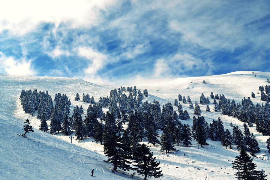 Near the blue sky by SyllAndy