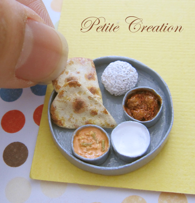 12th scale indian food by petitecreation on deviantart for Artisan indian cuisine