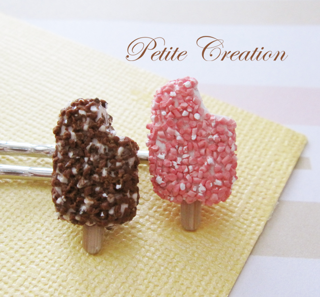 sundae crunch bar bobby pins 1 by PetiteCreation