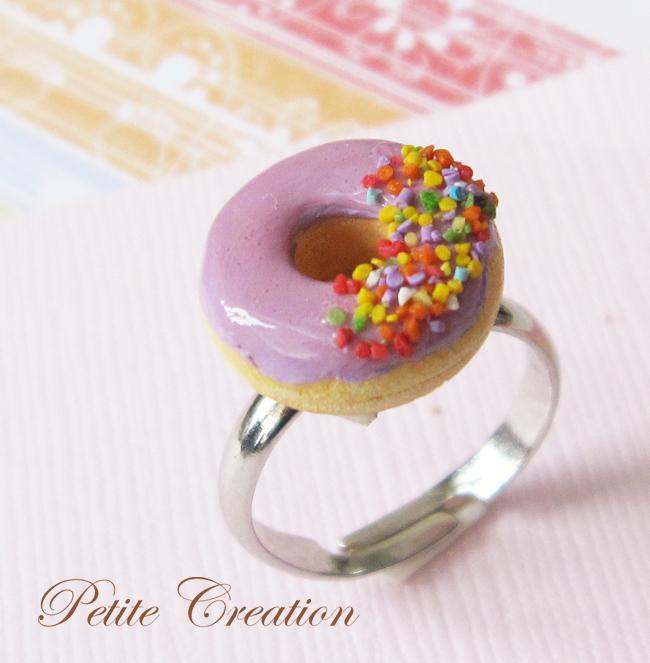 Purple Donut Ring By PetiteCreation On DeviantArt