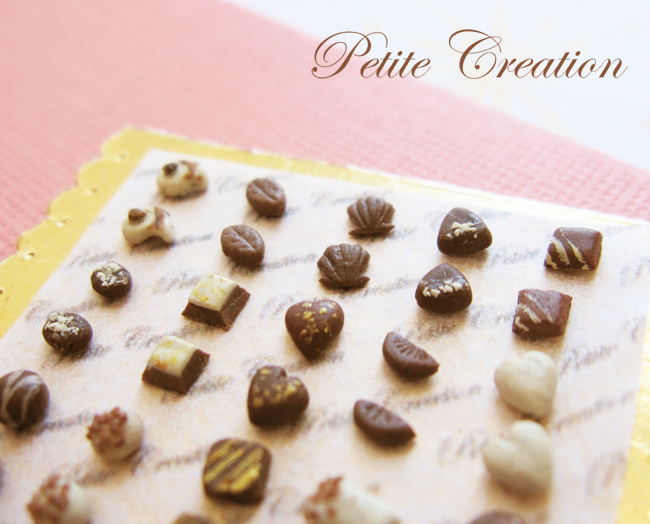 tray of chocolates 2 by PetiteCreation