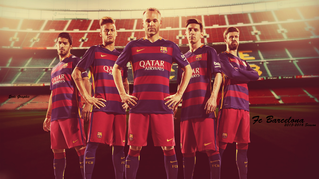 Fc Barcelona 2015 2016 By RedDevilsGraphic