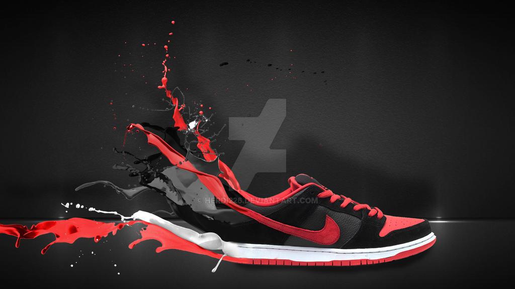 Nike Dunk Low Wallpaper 2 By Herdi226 On Deviantart